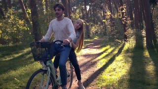 Joint Bike Ride in the Forest