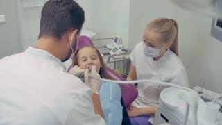 Kid at the Dentist