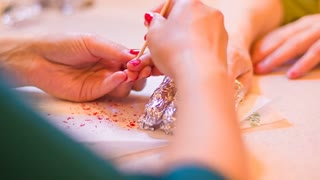 Nail treatment and preparation for the application of lacquer