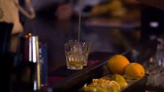 Сocktails at the bar