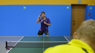 Quick Game of Table Tennis