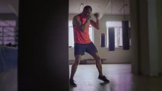 The Boxer Trains in the Hall