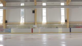 Train professional skater