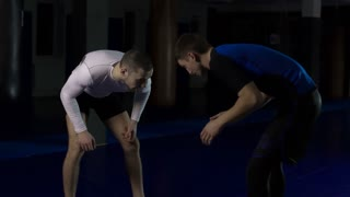 Training exercises for athletes Grappling