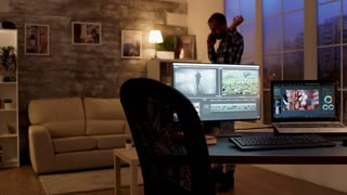 Hd 4k Background Video Home Office Videos Royalty Free