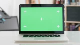 Hd 4k Greenscreen Corner Office Background Videos Royalty Free