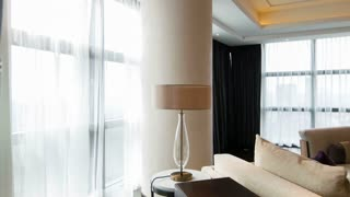 Hotel light sitting room interior design