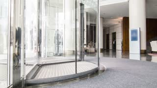Hotel modern lobby with contemporary furniture