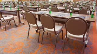 Large well designed conference hall