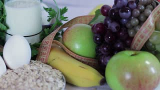 Diet and fitness, Healthy lifestyle concept