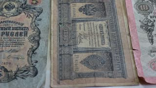 Money of the Russian Empire of the late 19th early 20th century