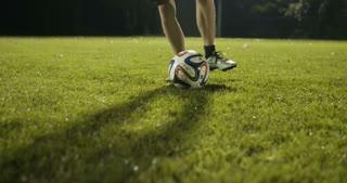Dribble A Soccer Ball