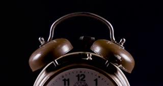 Retro Twin Bell Alarm Clock