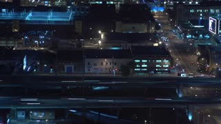 A Moody Timelapse of Night Traffic in Los Angeles
