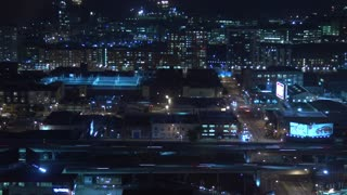 A Timelapse of Night Traffic in Los Angeles