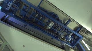 Automated Robotic Platform moves cars at a City Car Parking Garage