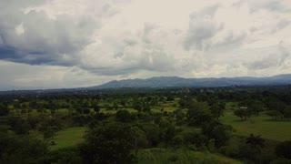 Drone Aerial Travels across Haitian fields