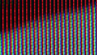 abstract background of TV screen close-up