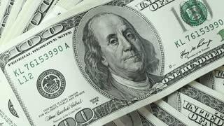 dollar background rotating