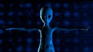 3D Animation of an Alien