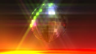 Animation of a Disco Ball