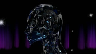Animation of a Robot Head
