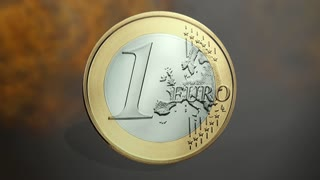 Animation of an Euro Coin