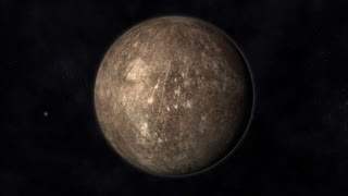 Animation of the Planet Mercury