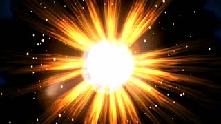 Cosmic Explosions Animation