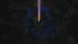 Digital Animation of a cosmic Inferno