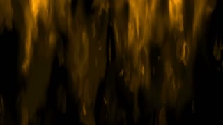 Digital Animation of a Fire in 4K