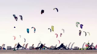 Impressions of the Kitesurf World Cup in St. Peter-Ording, Germany, August 21-30 2015, Editorial only