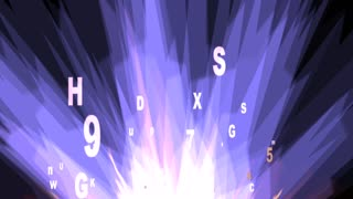 Letters and Numbers Animation