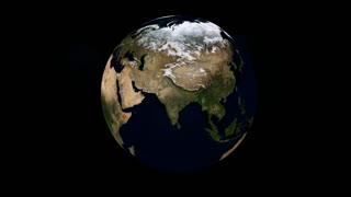 Rotating Earth Animation