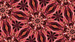 Digital Animation of a kaleidoscopic Mandala
