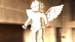 Digital Animation of an Angel