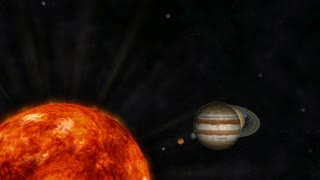 Digital Animation of the Solar System