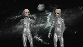 the aliens in Space