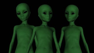 Extraterrestrialы , animation, Alpha channel
