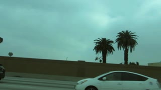 Freeway Side View, California - Stock Footage
