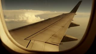 airplane window view. wing wings. plane aircraft. flight flying