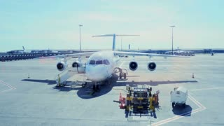 airport gate terminal. transportation boing jet charter. airplane aircraft plane