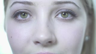 beautiful women eyes close up