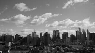 black and white urban city lifestyle background of new york city buildings