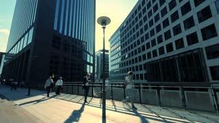 city panorama view. modern urban scenery