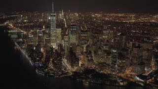 city skyline view. urban metropolis cityscape. new york city landmark