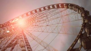 ferries wheel ride. carnival. amusement park. activity fun
