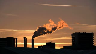industrial pollution smoke smog dirty. atmosphere climate
