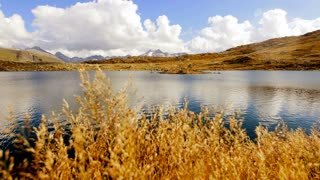 mountain lake scenery landscape panorama. nobody