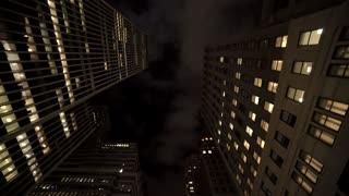 new york city skyline cityscape. modern skyscraper buildings background